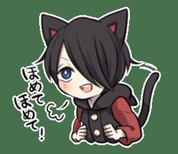 BLACK KITTEN 2 sticker #5636134