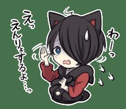 BLACK KITTEN 2 sticker #5636138