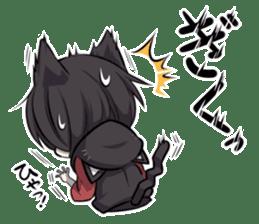 BLACK KITTEN 2 sticker #5636143