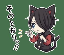 BLACK KITTEN 2 sticker #5636150