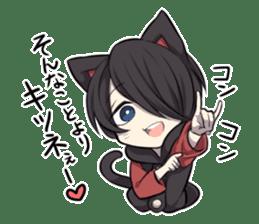 BLACK KITTEN 2 sticker #5636159