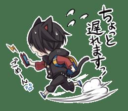 BLACK KITTEN 2 sticker #5636160