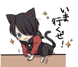 BLACK KITTEN 2 sticker #5636162