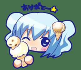 I like ice cream very much. sticker #5636981