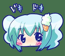 I like ice cream very much. sticker #5636999