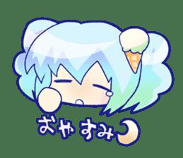 I like ice cream very much. sticker #5637035