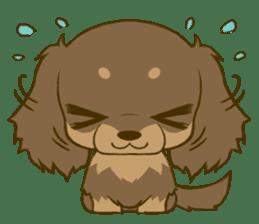 Dachshund tan sticker #5637376