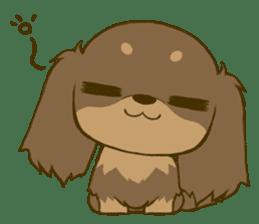 Dachshund tan sticker #5637393