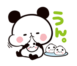 MOCHI MOCHI PANDA sticker #5646858