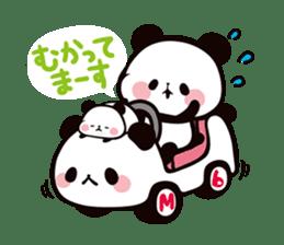 MOCHI MOCHI PANDA sticker #5646880