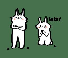 Mr Usagi sticker #5652260