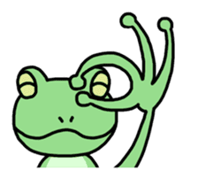"Frog""Ribyi"" sticker #5662604"