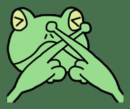 "Frog""Ribyi"" sticker #5662605"