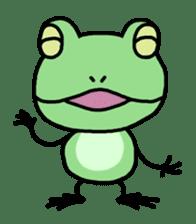 "Frog""Ribyi"" sticker #5662608"