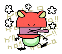 "Frog""Ribyi"" sticker #5662613"
