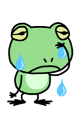 "Frog""Ribyi"" sticker #5662614"