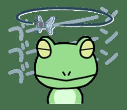 "Frog""Ribyi"" sticker #5662616"
