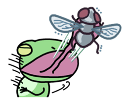 "Frog""Ribyi"" sticker #5662617"