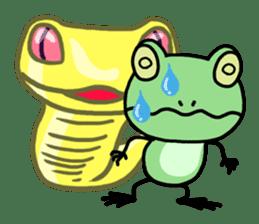 "Frog""Ribyi"" sticker #5662619"