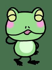 "Frog""Ribyi"" sticker #5662620"