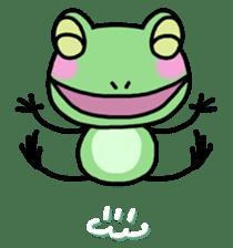 "Frog""Ribyi"" sticker #5662621"