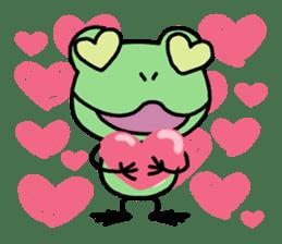 "Frog""Ribyi"" sticker #5662623"