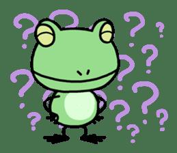 "Frog""Ribyi"" sticker #5662624"