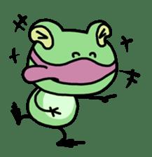 "Frog""Ribyi"" sticker #5662627"