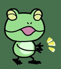 "Frog""Ribyi"" sticker #5662629"