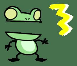 "Frog""Ribyi"" sticker #5662632"