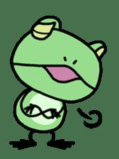 "Frog""Ribyi"" sticker #5662638"