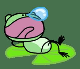 "Frog""Ribyi"" sticker #5662640"