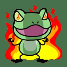 "Frog""Ribyi"" sticker #5662641"