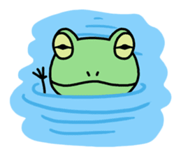 "Frog""Ribyi"" sticker #5662643"