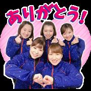สติ๊กเกอร์ไลน์ Loco Solare Curling Team Stickers