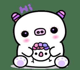 The shell pig sticker #5675036