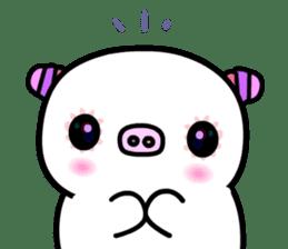 The shell pig sticker #5675037