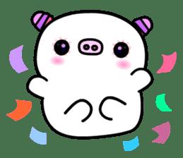 The shell pig sticker #5675048