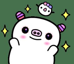 The shell pig sticker #5675052