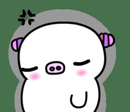 The shell pig sticker #5675059