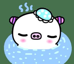 The shell pig sticker #5675060