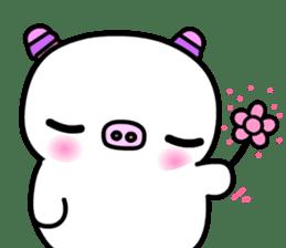 The shell pig sticker #5675069