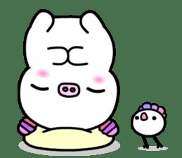 The shell pig sticker #5675073