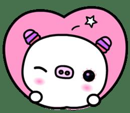 The shell pig sticker #5675075