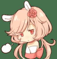 Rose Bunnies sticker #5682790