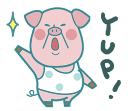 Piggy the 3 Big Pigs (English Sticker)2 sticker #5694157