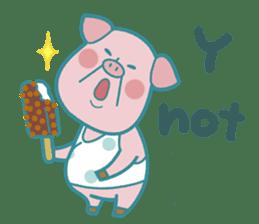 Piggy the 3 Big Pigs (English Sticker)2 sticker #5694161