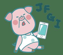 Piggy the 3 Big Pigs (English Sticker)2 sticker #5694162