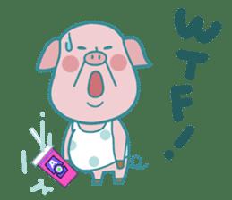 Piggy the 3 Big Pigs (English Sticker)2 sticker #5694164