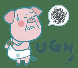 Piggy the 3 Big Pigs (English Sticker)2 sticker #5694165